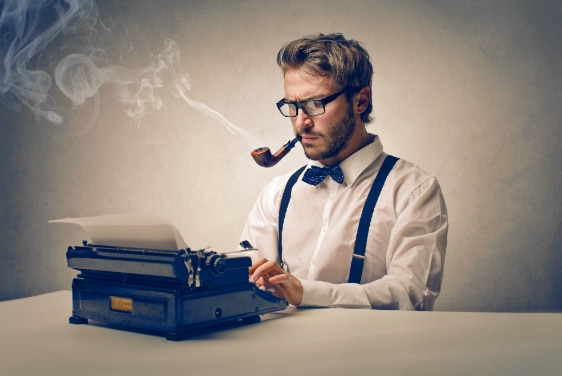 So you need a good content writer…