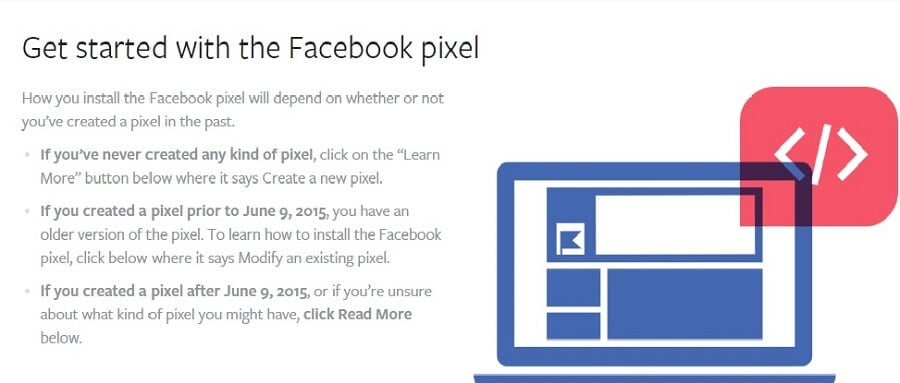 Creating Facebook Pixel Facebook retargeting