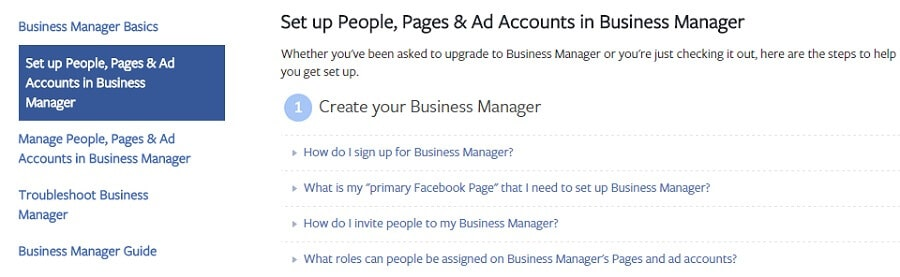 Business Manager Facebook Retargeting