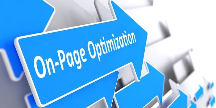 on page optimization direction sign
