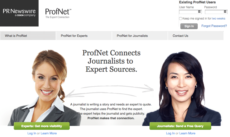 profnet for theprauthority.com