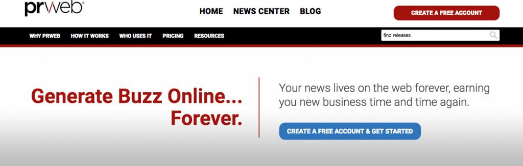 prweb.com for theprauthority.com