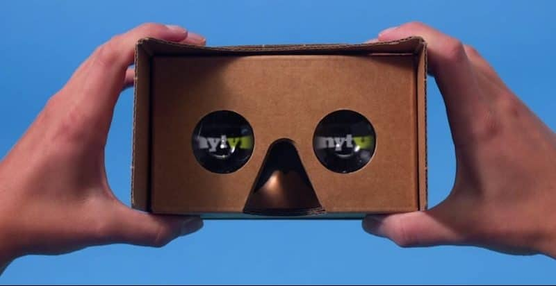 NYT VR and Google Cardboard
