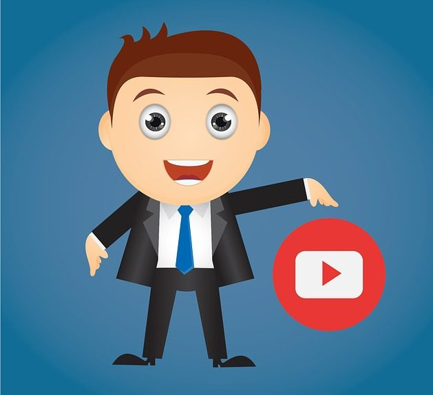 Man And Youtube Logo