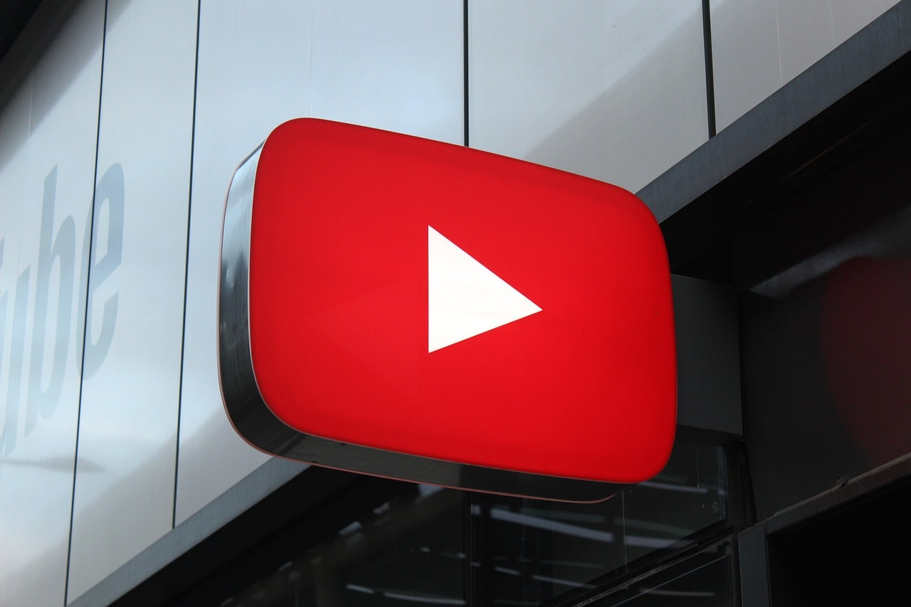 Youtube icon signage